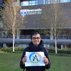 Muhammad Rezki dari Drummond Building, Newcastle University.