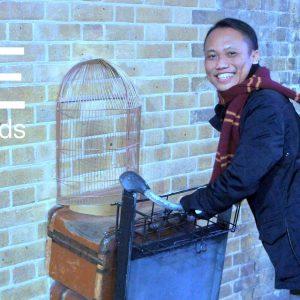 Harry Potter ? Why not !! Pengalaman Hanif Azhar mendapatkan beasiswa sampai ke Hogwarts School Impiannya