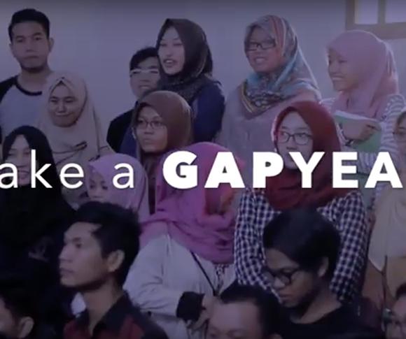 GAP YEAR Pertama di Indonesia