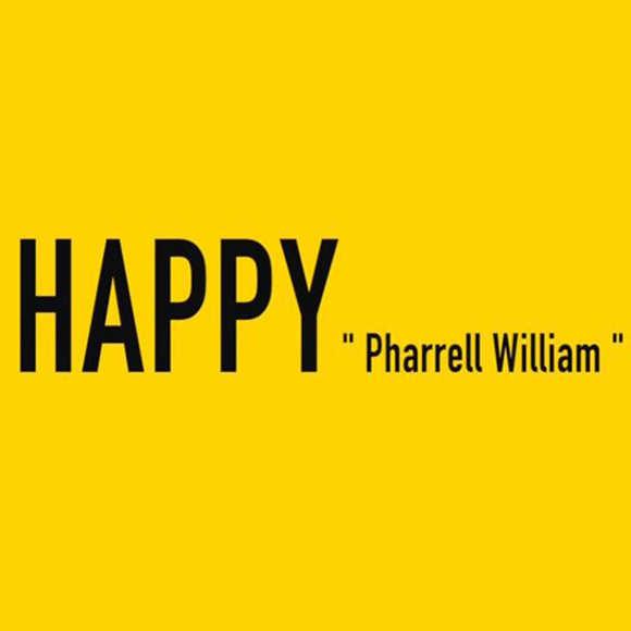 Pharrel – Happy English